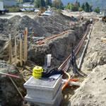 Vacuum Excavation of underground utilities