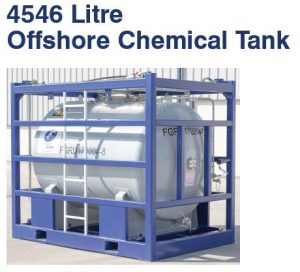 4546 litre offshore chemical tank