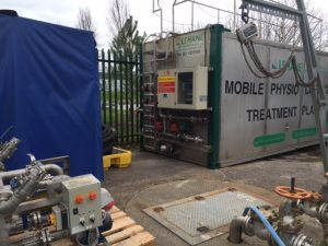 Mobile Physio Chemical Treatment Plant