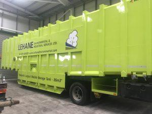 Ireland's Largest Storage Tank. 86,000 litre bunded tank