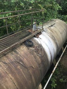 Old Overground Storage Tank
