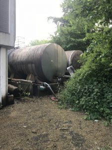 Old Overground Storage Tanks to be decommissioned